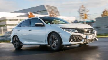 Honda Civic 2016 prototype - front tracking 3