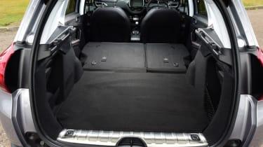 Peugeot 2008 - boot seats folded