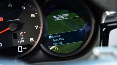 Porsche Macan - dial settings