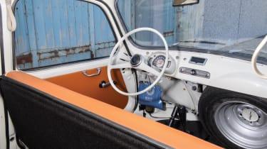 RM Sotheby's 2017 Paris auction - 1963 Fiat 600 Multipla interior