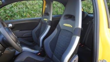 Abarth 595 Competizione - front seats