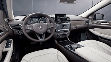 Mercedes GLS Grand Edition interior