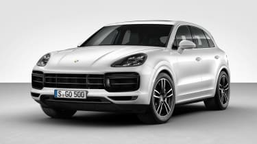 Porsche Cayenne Turbo - front static