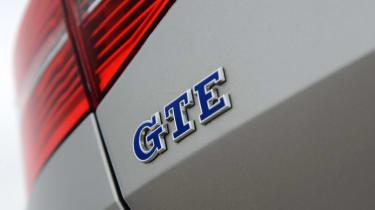 Volkswagen Passat GTE - GTE badge