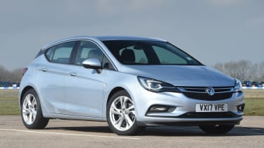 Vauxhall Astra diesel - front