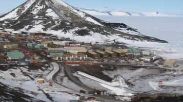 Record breaking roads - McMurdo Station