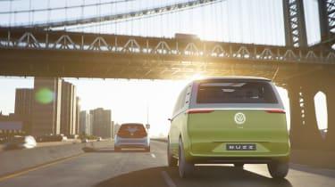 Volkswagen I.D. Buzz - full rear action