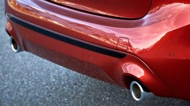 BMW 2 Series Active Tourer facelift - exhausts