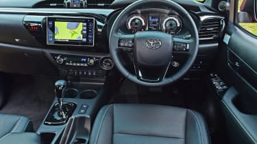 Toyota Hilux Invincible X interior