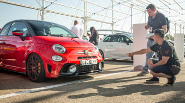 Abarth's 70th Anniversary - Hugo talking to Ben Au