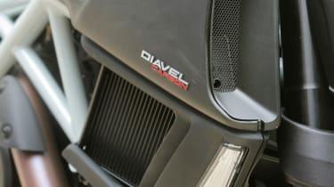 Ducati Diavel review - intake