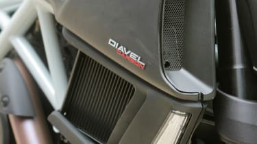 Ducati Diavel review - intake