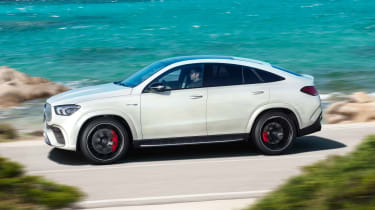 Mercedes-AMG GLE 63 S Coupe - side