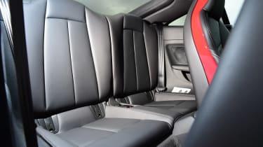 Audi TTS - rear seats