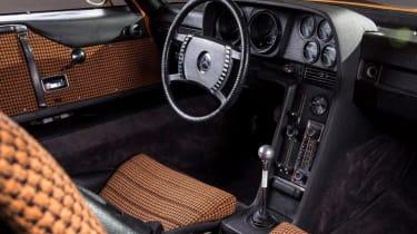 Mercedes C111 - interior