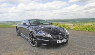 Aston DBS Carbon Black