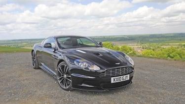 Aston DBS Carbon Black