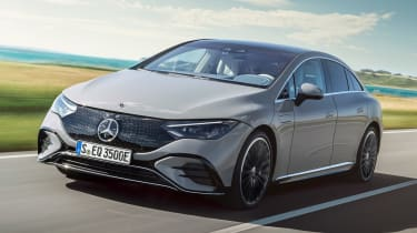 Mercedes EQE - front