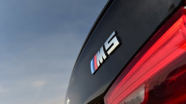 BMW M5 - rear M5 badge