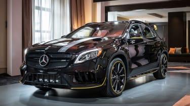 Mercedes GLA 45 - reveal front