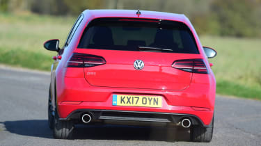 Volkswagen Golf GTI Performance Pack - rear cornering