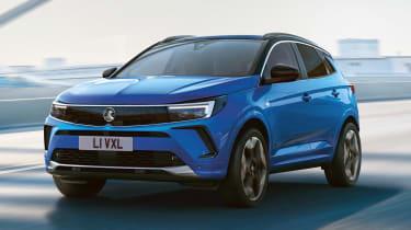Vauxhall Grandland - front action