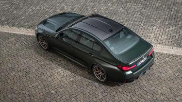 BMW M5 CS - rear above