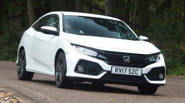 Honda Civic long-term review - Civic front