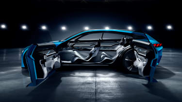 Peugeot Instinct concept - side doors open studio