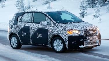 Opel Meriva 2017 side front