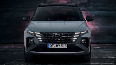 Hyundai Tuscon N Line - full front