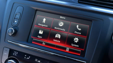 Renault Kadjar - infotainment screen