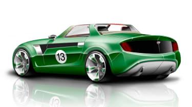 MG Horizon concept sketch - rear