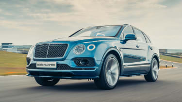 Bentley Bentayga Speed - front