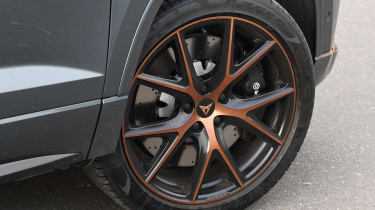 cupra ateca long-termer alloy wheel