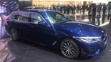New BMW 5 Series Touring - Geneva side 2