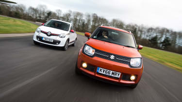 Suzuki Ignis vs Renault Twingo - head-to-head