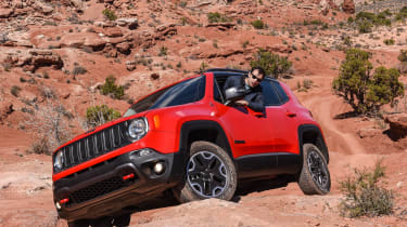75 years of Jeep - Renegade red 2