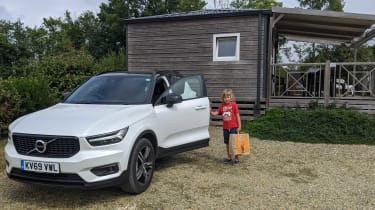 Volvo XC40 Recharge T5 long termer - second report front