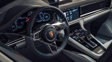 Porsche Panamera - studio steering wheel