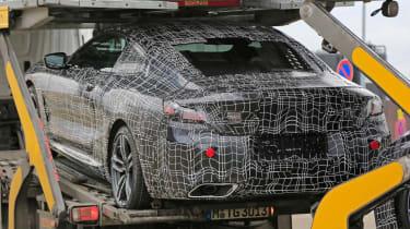 BMW 8 Series - spy shot quarter rear