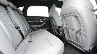 Audi e-tron S - rear seats