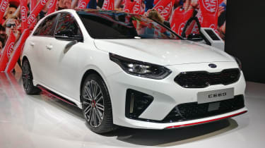 Kia Ceed GT front