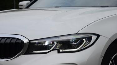 BMW 330e - headlight