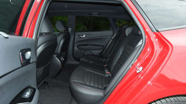 Kia Optima Sportswagon - rear seats