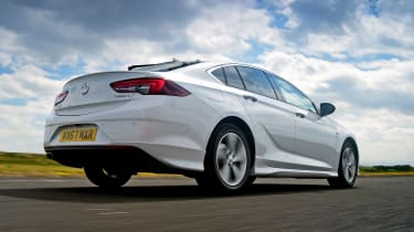 Vauxhall Insignia Grand Sport - rear tracking
