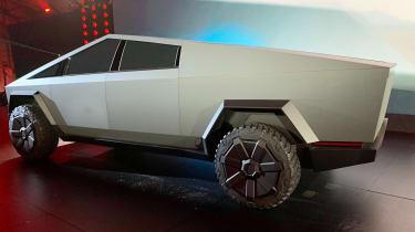 Tesla Cybertruck - reveal side