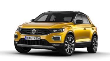 Volkswagen T-ROC - official front