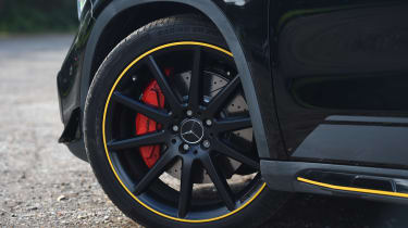 Mercedes-AMG GLA 45 Yellow Night Edition - wheel