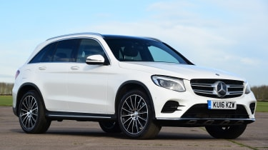 Mercedes GLC - front static